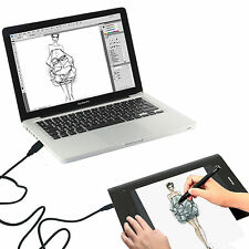 Huion H610 Pro Art Graphics Drawing Tablet 10x6.25 + Rechargeable Digital Pen UK