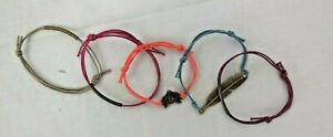Schmuck Armbänder, in verschiedenen Ausführungen & Farben - Orange