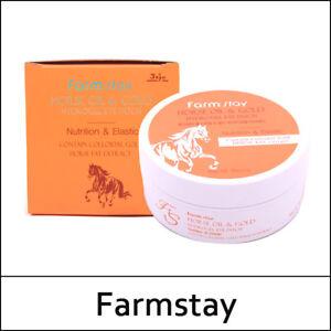 [FarmStay] Farm Stay Horse Oil & Gold Hydrogel Eye Patch 90g(60ea) 1 Pack /(US3)