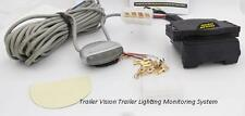 Trailer Lighting Monitoring System 7 Pin Flat Socket & Monitor