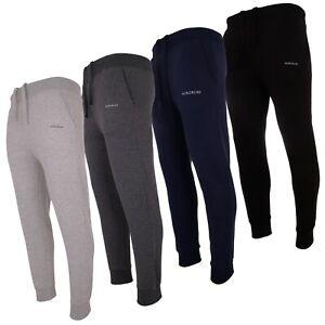 NORDBURY Men's Sweat Pants Track Joggers Bottoms Fit Elastic Waist