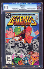 DC Legends #3 CGC 9.8 NM+ / M 1987 First Appearance Suicide Squad HOT LIKE FIRE