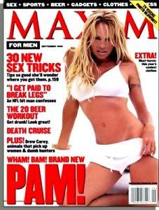 MAXIM Magazine #21 September 1999 Pamela Lee Anderson Estella Warren -Sex Tricks