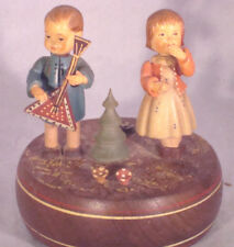Vintage Reuge Swiss Musical Box Girl & Boy Theme from Doctor Zhivago