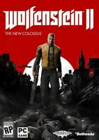 Wolfenstein II 2 The New Colossus Steam Game Key (PC) - Region Free (no CD/DVD)