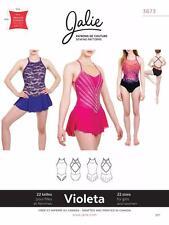 Jalie Violeta Open Back Leotard and Dress Skating Costume Sewing Pattern 3673