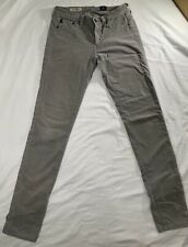 AG Adriano Goldschmied THE LEGGING Super Skinny Stretch Women's Gray Size 27