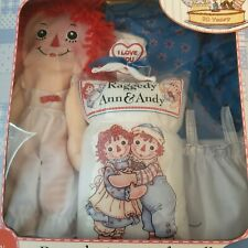 Raggedy Ann Build Your Own Doll Applause 2005 New In Box Build With Love Craft