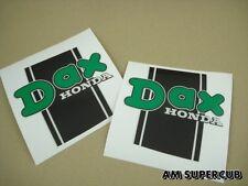 Original label Autocollant emblème sticker Cadre Frame Body Honda Dax st 50 Dog