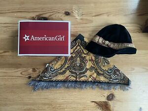 American Girl Rebecca meet accessories first edition with box - hat and shawl