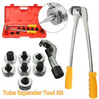 7 Lever Hydraulic Tubing Expander Tool Swaging Kit HVAC Tools Tube Piping Pipe!