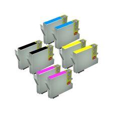 8 TINTAS NON OEM PARA EPSON STYLUS CX3650 T0441 T0442 T0443 T0444 441 18ML C64