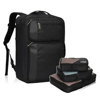 Hynes Eagle 30L Travel Carry on Backpack Luggage w/ Compressible Packing Cubes