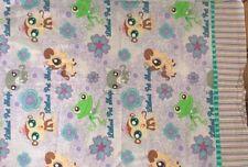 Littlest Pet Shop Standard Pillowcase Frog Pony Monkey Cat Purple