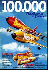 De Beukelaer-- 100.000 Flugkilometer zu gewinnen - Werbung von 1978