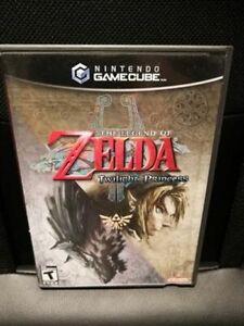 Legend of Zelda: Twilight Princess (GameCube, 2006) Fast Shipping! CIB