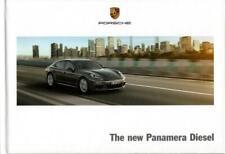 Porsche Panamera Diesel 2013 - UK brochure / book