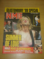 NME 1999 JUL 3 COURTNEY LOVE HOLE MANICS REM FATBOY