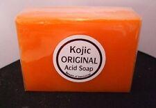 Papaya Kojic Acid Organic Herbal Soap Bars for Skin Whitening Bleaching UK
