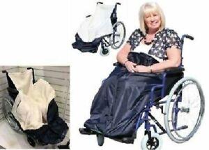 Wärmesack für Rollstuhl Schlupfsack Kuschelsack Decke Rollstühle B-Ware