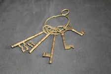New ListingFive! Antique Skeleton Keys Unique Shapes