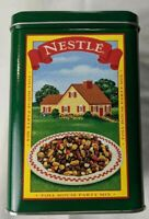 Vintage Nestle Toll House Cookies Pie Party Mix Limited Edition Tin w/ Hills Tag