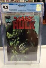 SAVAGE HULK nn (Marvel Comics, 1996) CGC Graded 9.8 ~ White Pages