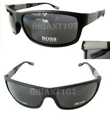 New HUGO BOSS Sunglasses 0541/P/S AMD AH Matte Black/Gray Polarized + Case