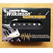*NEW Wilkinson WOVS LOADED PICKGUARD for Fender Strat White 3 Ply 11 Hole
