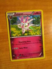 PL (crease) Pokemon SYLVEON Card BLACK STAR PROMO Set XY04 HOLO Collection Box