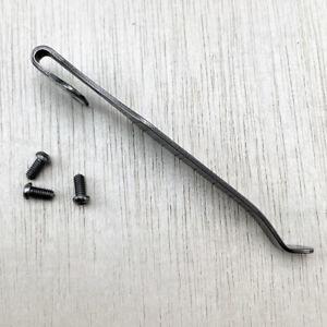 DIY Kit TC4 Titanium Alloy Deep Carry Pocket Clips DIY Waist Clamp Accessories