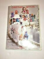 Montgomery Ward Christmas Gifts 1985 Catalog                                  X1