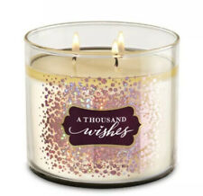 Bath and Body Works A THOUSAND WISHES Large 3-Wick Scented Candle ~ 14.5 oz