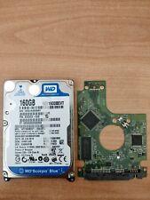 Scheda Logica Hard Disk 2.5'' SATA 160GB WESTERN DIGITAL WD1600BEVT-22A23T0 N35P