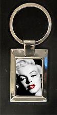 Marilyn Monroe - highly polished metal keyring