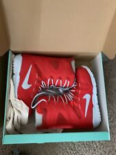 Brand New In Box Red Nike Zoom Kaiju Snowboard Boots Size 9.5