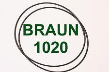 CINGHIE CONTANASTRO BRAUN 1020 REGISTRATORE A BOBINE BOBINA NUOVE FRESCHE SET