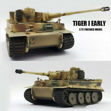 WWII German Tiger I Early  1/72 tank easy model finished non diecast