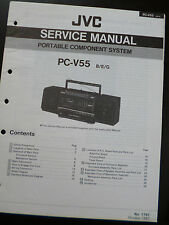 Original Service Manual  JVC PC-V55