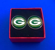 Green Bay Packers Football Logo Cufflinks