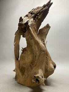 "Driftwood for Aquarium Very Clean Large Root Fish Reptile Decor Drift Wood 18""H"