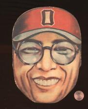 1948 Japanese Baseball Large Diecut Mask Menko JDM2 Kaoru Betto HOF Hanshin