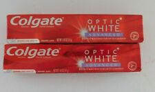Colgate Optic White Advanced Teeth Whitening Toothpaste - 1.45 Ounce (2 Pack)