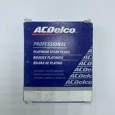 AC Delco Professional Platinum Spark Plugs 41-801 19308034 Pack of 4