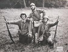 Photographie par Kim Camba 1973 3 soldats acteurs film à déterminer actor movie