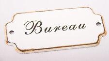 Shabby chic vintage RETRO *BUREAU* door plaque study office sign