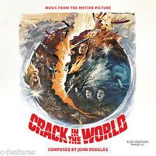CRACK IN THE WORLD / PHASE IV John Douglas / Brian Gascoigne CD LA-LA LAND New!