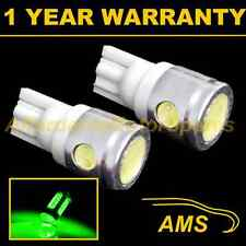 2X W5W T10 501 XENON GREEN 3 LED SMD SIDELIGHT SIDE LIGHT BULBS HID SL101104