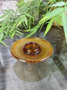 Nuutajarvi Iittala Art Glass Votive Candle Holder Kastehelmi Oiva Toikka Finland