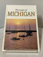 Vintage 1960's The Magic of Michigan Tourist Travel Brochure Booklet